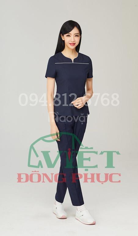 Xưởng may quần áo điều dưỡng giá rẻ, chất lượng, chuẩn mẫu