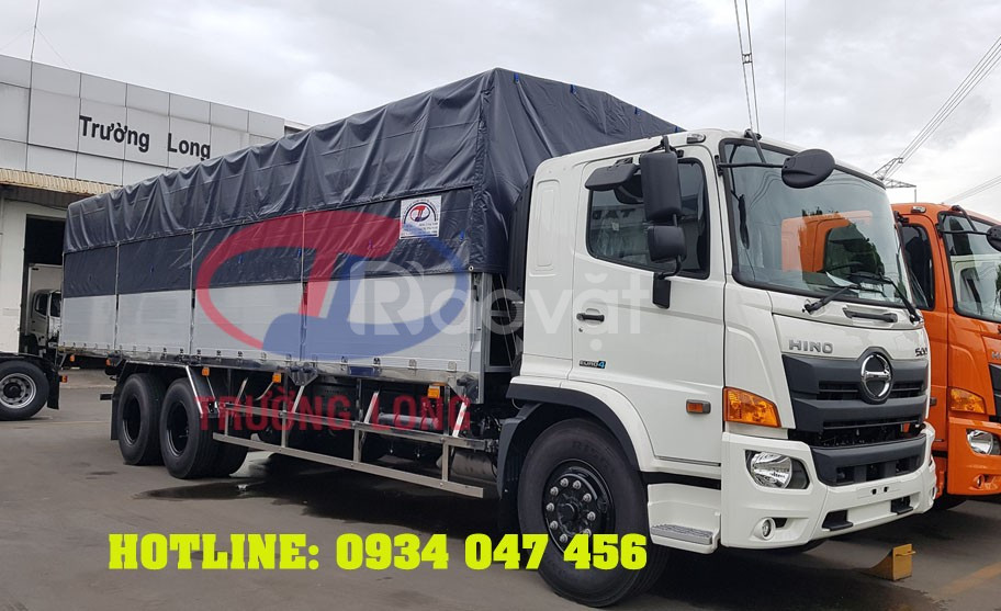 Xe tải Hino 15 tấn - Hino FL8JW7A thung2 dài 9m4