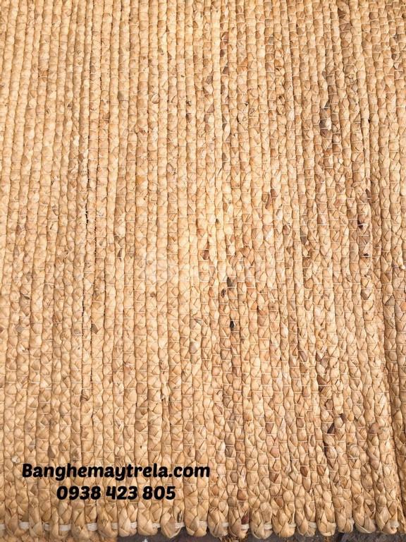 Thảm lục bình, thảm trải sàn chữ nhật 1m2 x 2m