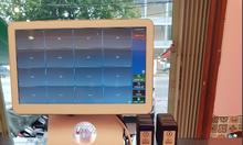 Lắp máy tính tiền dùng cho quán trà sữa tại Bình Thuận