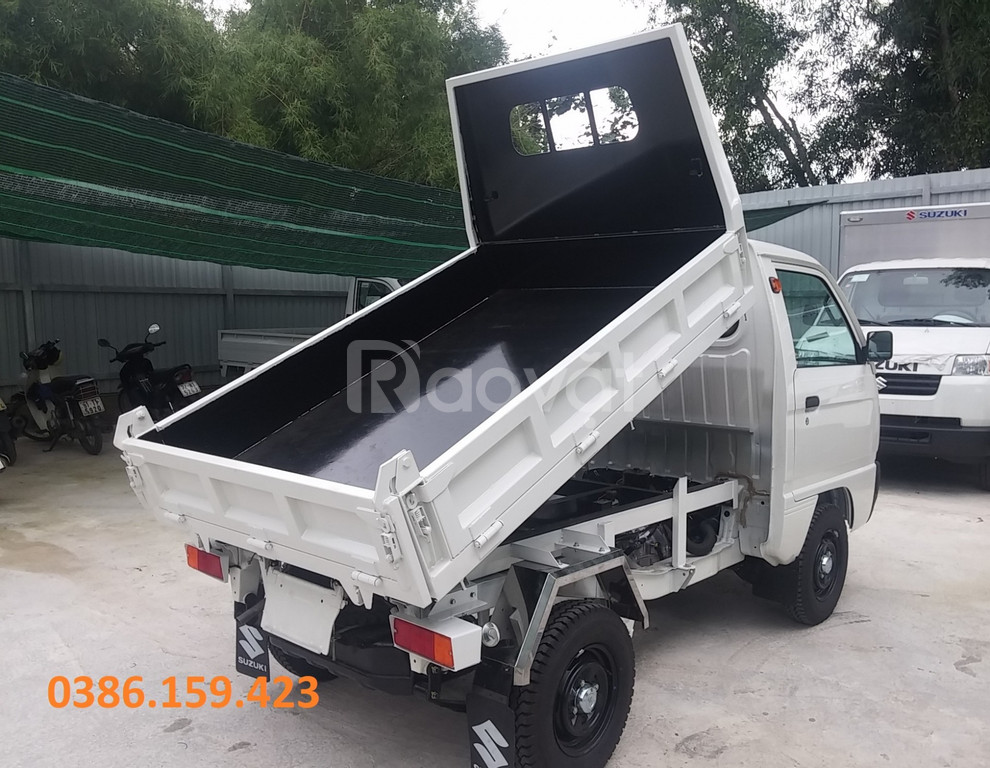 Xe tải su ben 5 tạ ~ suzuki 500kg, xe ben suzuki tải 500kg giá rẻ