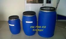 Thùng phuy nhựa các loại chứa nước sinh hoạt, hóa chất