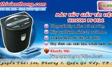 Gom hàng tháng 5 Máy hủy giấy tài liệu SILICON PS-812C