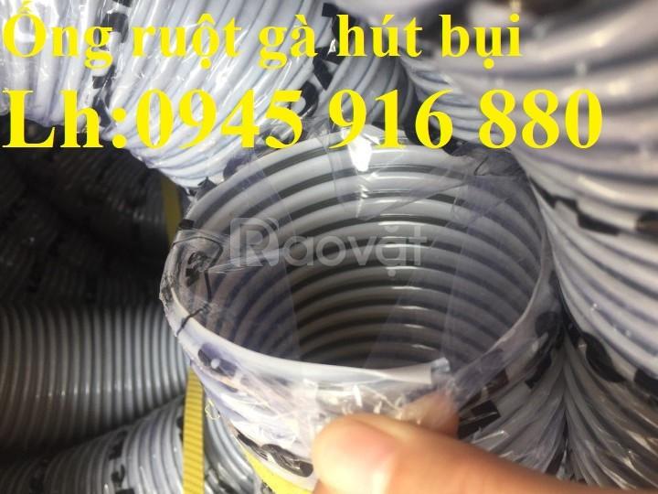 Ống gân nhựa mềm hút bụi máy cnc, hút liệu thông gió tốt nhất giá rẻ
