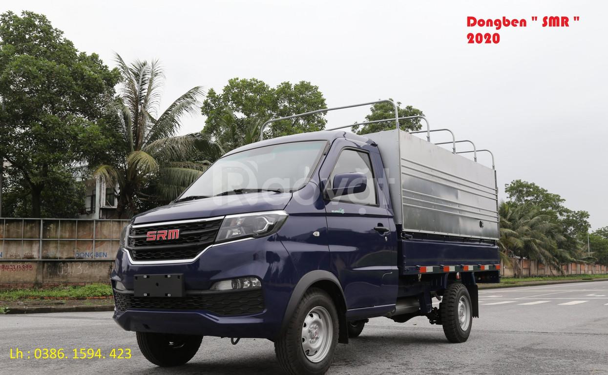 Xe tải 1 tấn: xe tải dongben SRM 2020 +tải 930kg +thùng dài 2m7