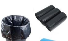 Bán bao rác cuộn 3 màu hoặc đen tại Cà Mau