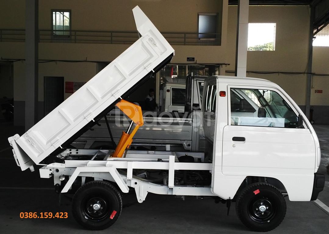 Xe tải su ben 5 tạ ~ suzuki 500kg, xe ben suzuki tải 500kg   Đại lý