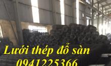 Lưới thép hàn D4A200x200 khổ 2mx25m dạng cuộn, dạng tấm