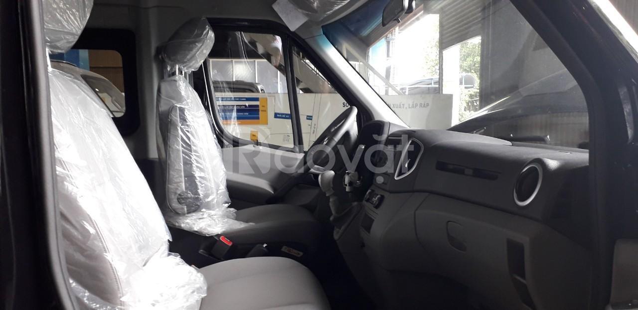 Xe ôtô du lịch 16 chỗ sunray v6 giá 600tr bao thu hồi vốn