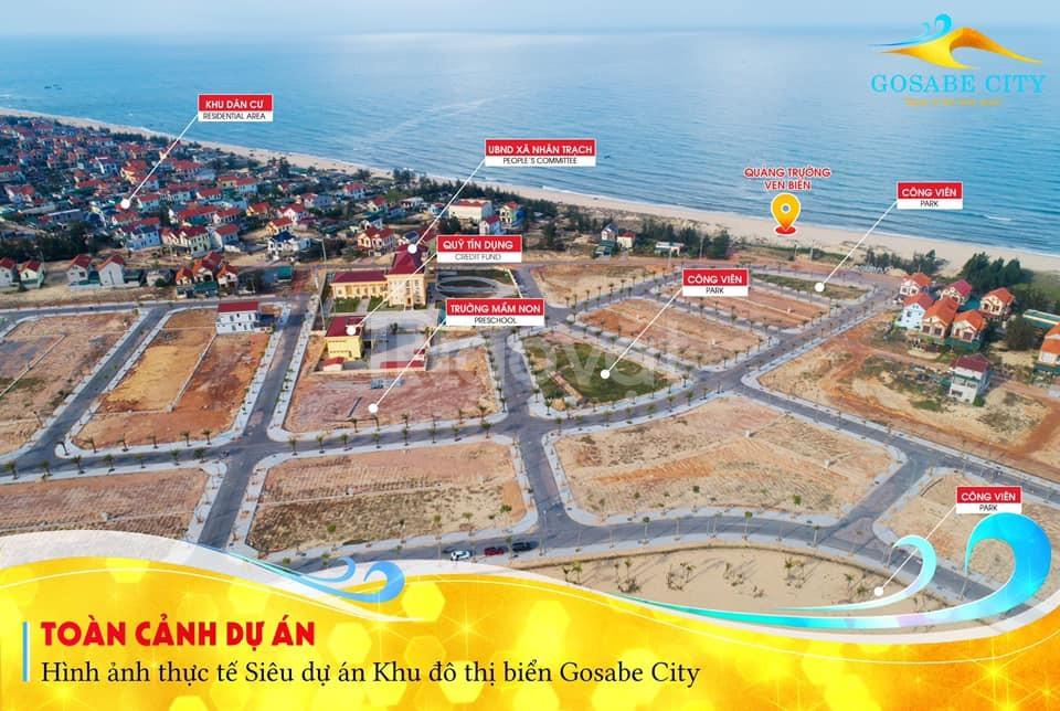 Gosabe city, dự án đất biển Quảng Bình được mong chờ 2020