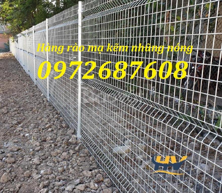 Lưới thép hàng rào mạ kẽm, lưới thép hàng rào sơn tĩnh điện