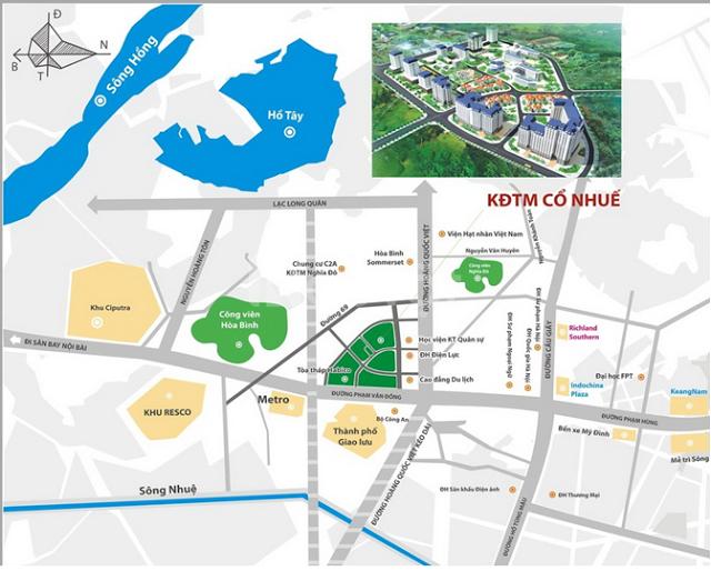 Bán hàng CĐT dự án đường Hoàng Quốc Việt, đơn giá 26,5tr/m2