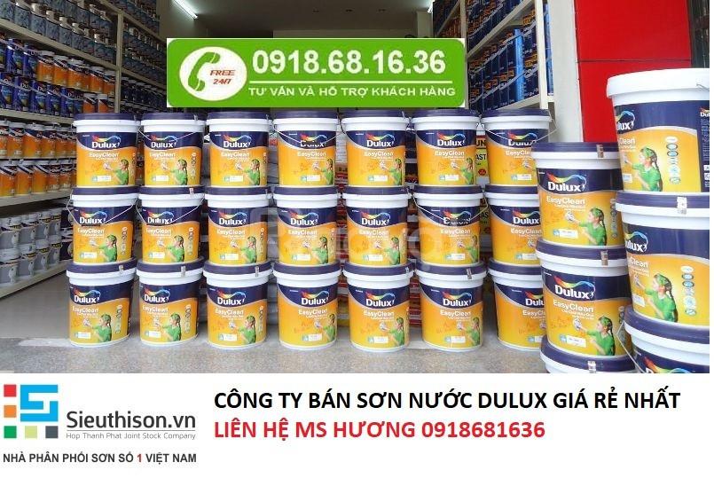 Đại lí bán sơn nội thất dulux lau chùi hiệu quả tại Dĩ An, Bình Dương
