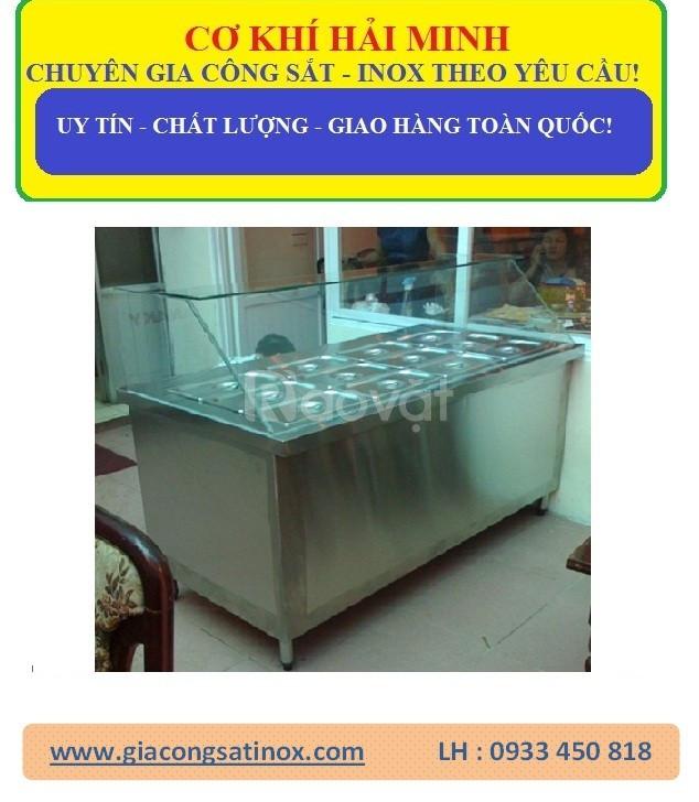 Tủ hâm nóng thức ăn inox dùng điện
