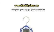 Đồng hồ điện tử nạp gas lạnh Value VDG-S1