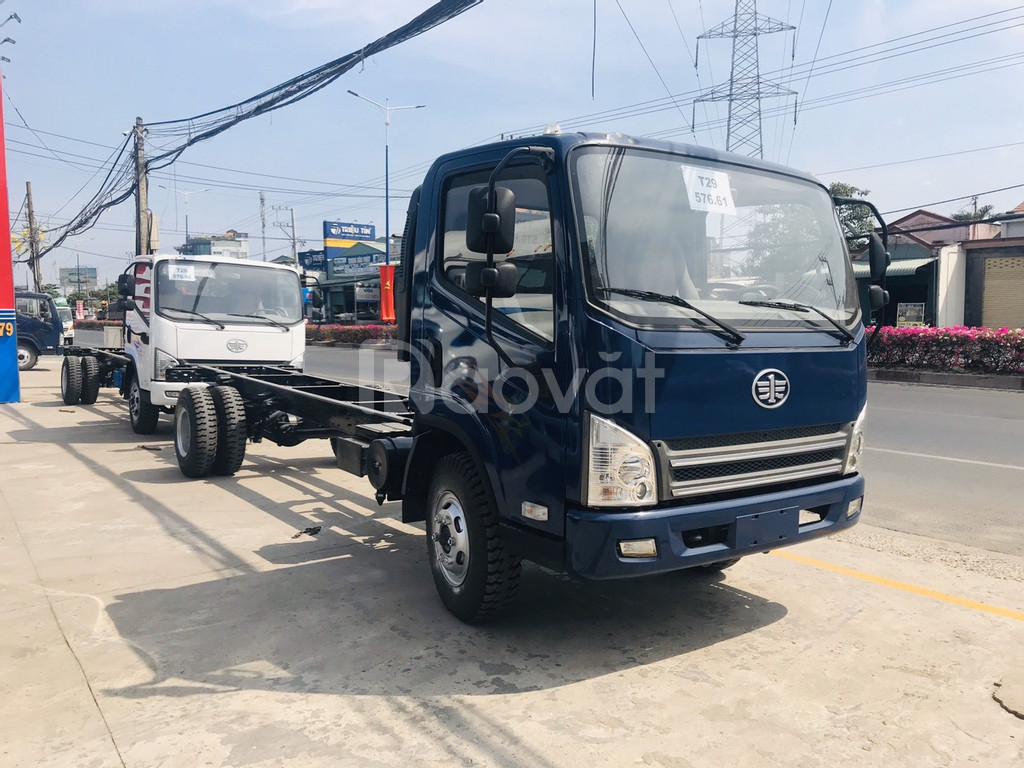 Xe tải faw 7.3 tấn ga cơ - động cơ hyundai nhập khẩu