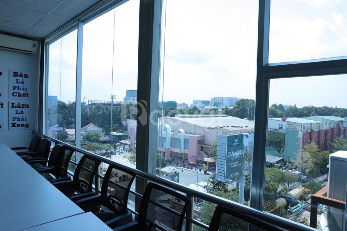 Cho thuê 3 tầng văn phòng mặt tiền đường Hoàng Văn Thụ - Phú Nhuận