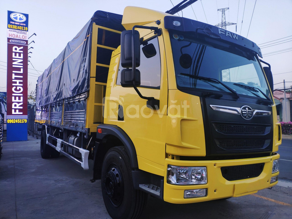 Xe tải faw 8 tấn thùng dài 8 mét chở hàng nhẹ | Hỗ trợ trả góp