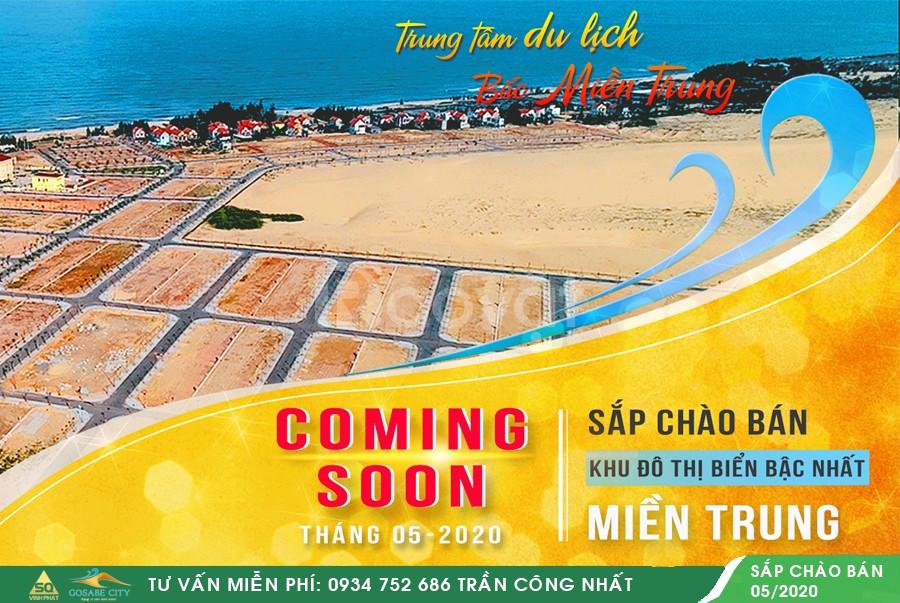 Chính thức nhận giữ chổ dự án Gosabe City Quảng Bình chỉ 30 triệu/nền