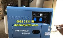 Máy phát điện chạy dầu gia đình 5kw Huspanda HD6600 đề nổ giá rẻ
