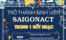 Saigonact thông báo tuyển sinh cao đẳng 2020