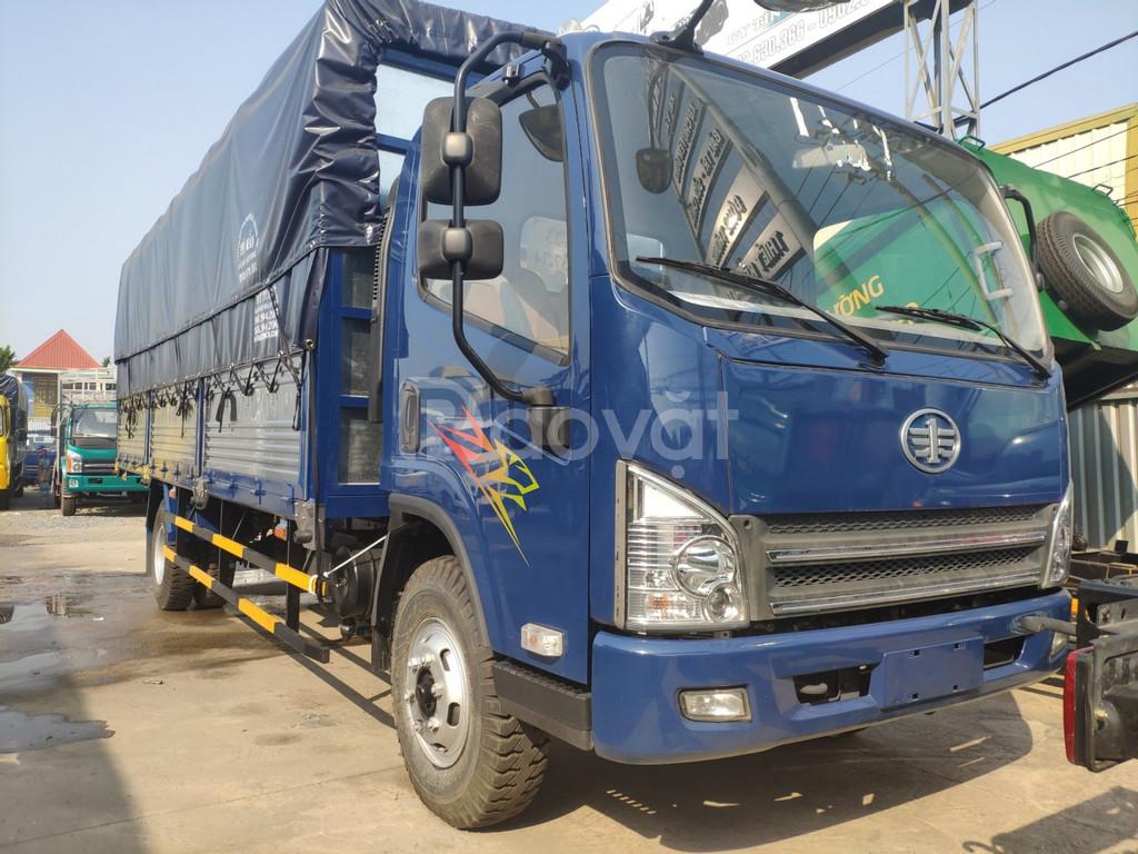 Giá xe tải faw 7.3 tấn ~ Xe tải Faw 7.3 tấn động cơ hyundai thùng dài