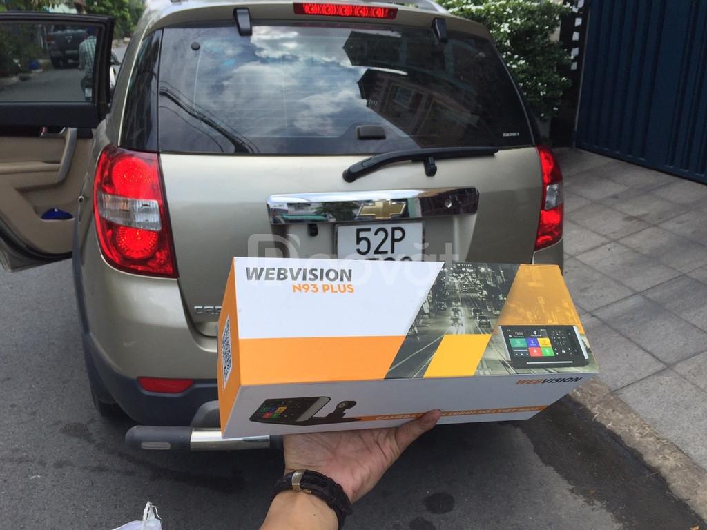 Camera hành trình Webvison N93 Plus   Camera hanh trinh Webvision N93