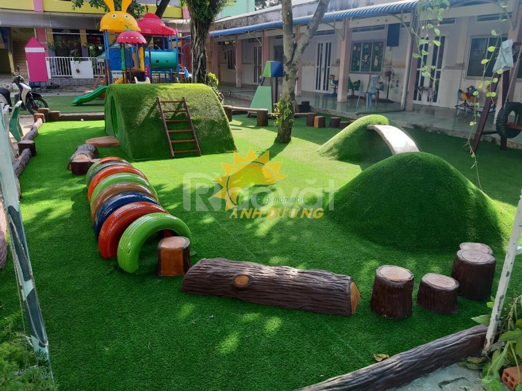 Chuyên cung cấp cỏ nhân tạo cho trường lớp mẫu giáo, mầm non
