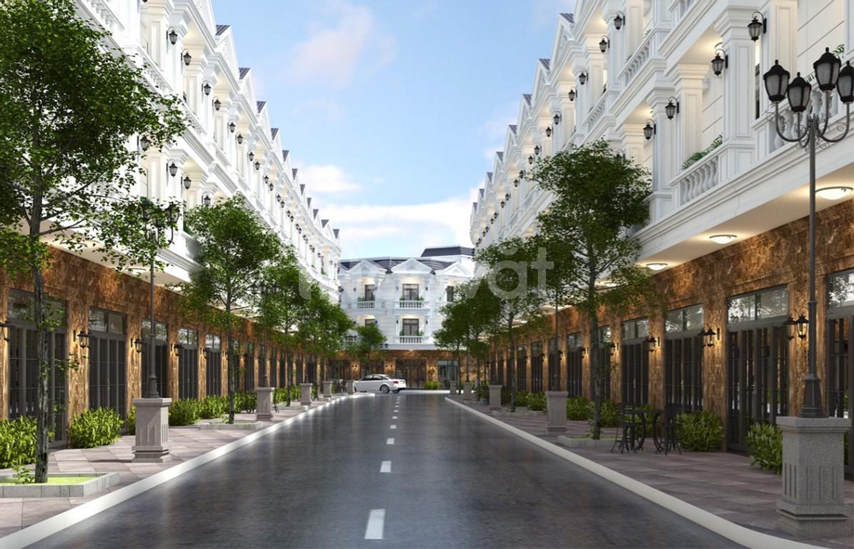 Nhà phố 2 mặt tiền Nguyễn Trãi, mới 100%, số lượng giới hạn, sổ hồng