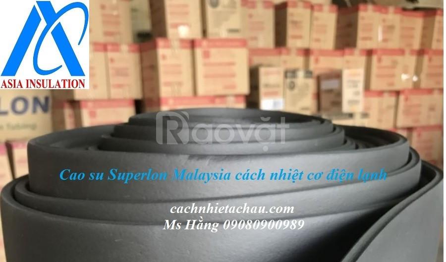 Cuộn cao su Superlon cách nhiệt cơ điện lạnh dạng trơn