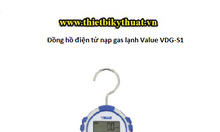 Bộ đồng hồ nạp gas điện tử VDG-S1