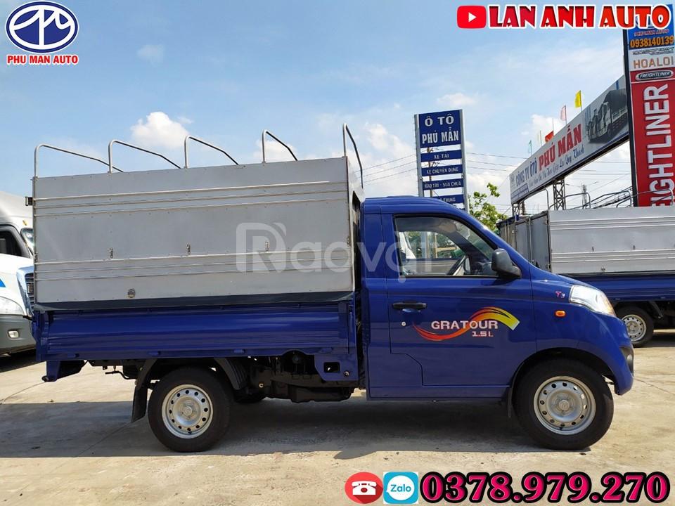 Bán xe tải nhỏ Foton 850kg - trả góp 80% lãi suất ưu đãi