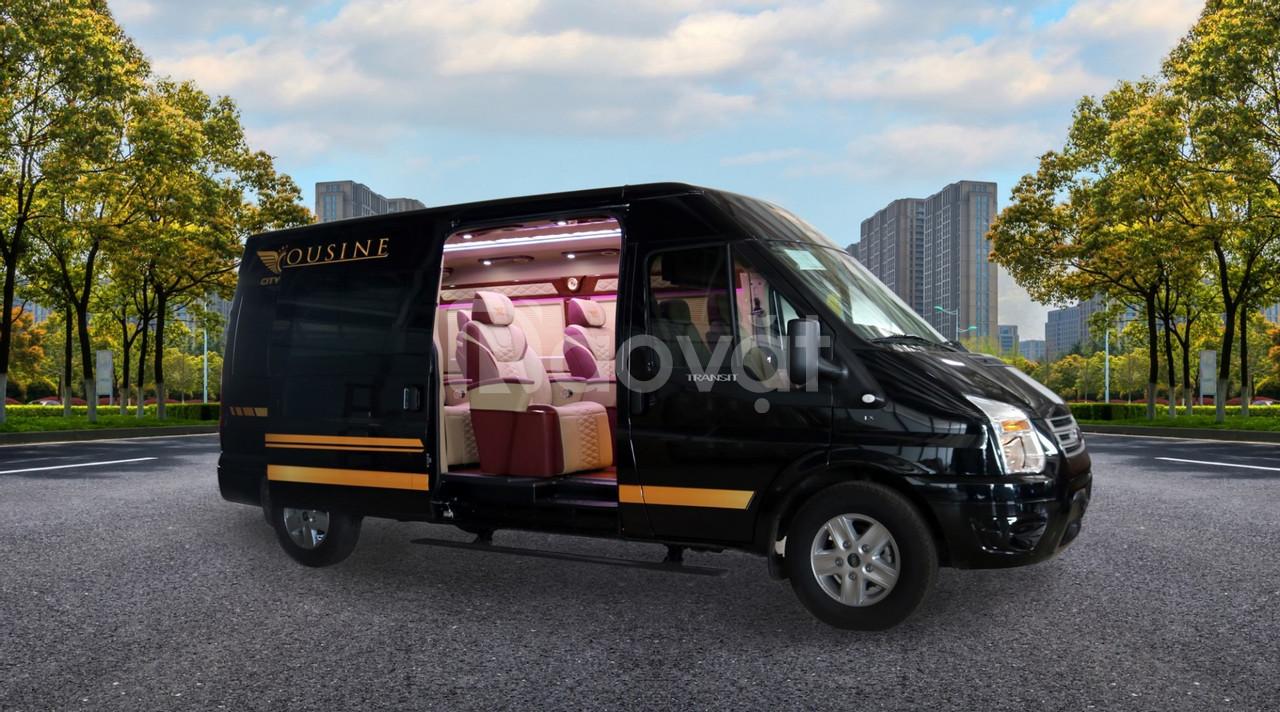City Limo - Ford Transit Limousine, chuyên cơ mặt đất