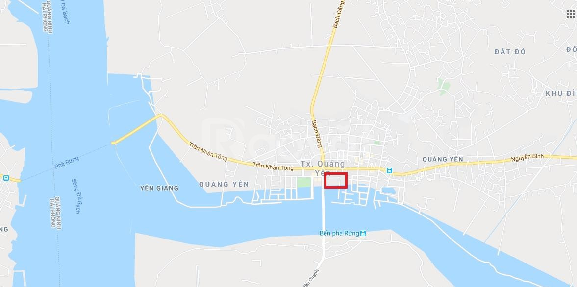 Lô đất thương mại trung tâm thị xã Quảng Yên, Quảng Ninh