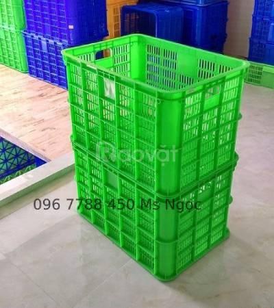 Rổ nhựa các loại đựng bưởi xoài giá rẻ
