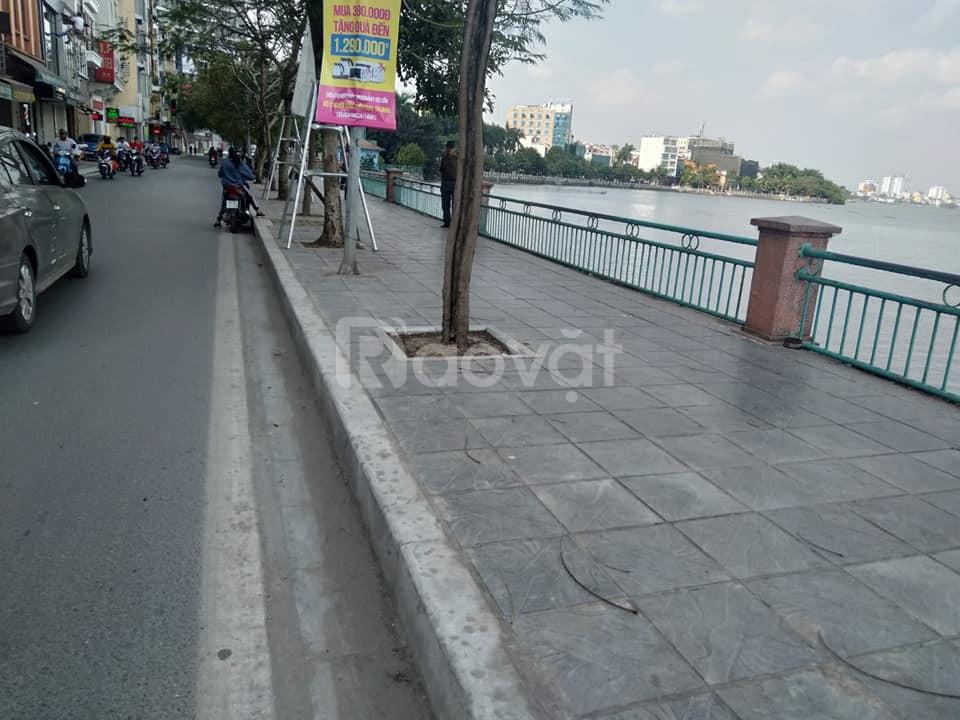 Bán đất mặt Phố Nguyễn Đình Thi 51m2 5m mặt tiền lô góc giá 25.5 tỷ