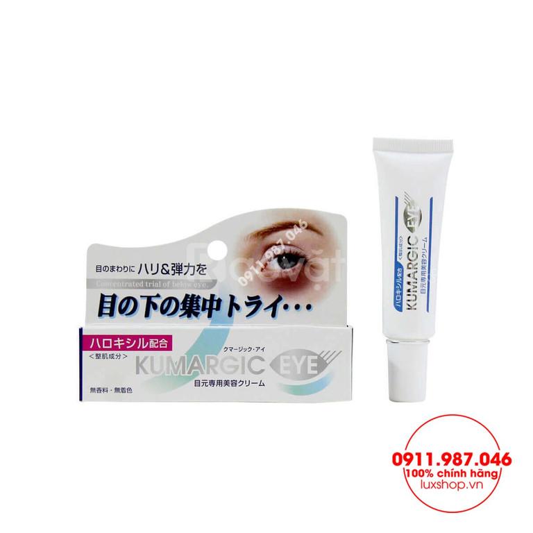 Kem trị thâm giảm nhăn mắt Kumargic Eye chính hãng (Nhật Bản)