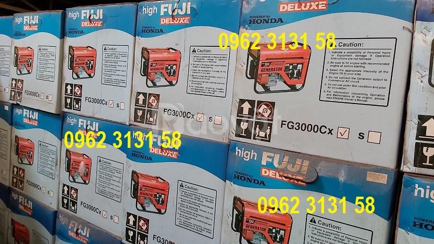 Máy phát điện chạy xăng 2,4kva Fuji chính hãng Nhật Bản