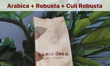 Cà Phê Ông Bi - Cà phê nguyên chất, rang mộc, không tẩm ướp