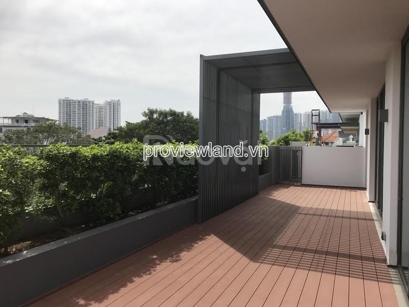 Mua biệt thự Holm Villas Thảo Điền Q2, căn sân vườn, 395m2