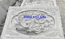 Mẫu chiếu rồng nhà thờ họ bằng đá tự nhiên thiết kế chuẩn phong thủy