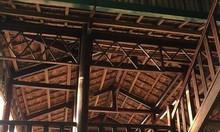 Bán nhà sàn gỗ 4 gian cũ