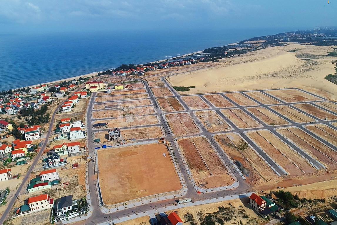 Nhà rẻ, giá 16 triệu/m² đất biển QB