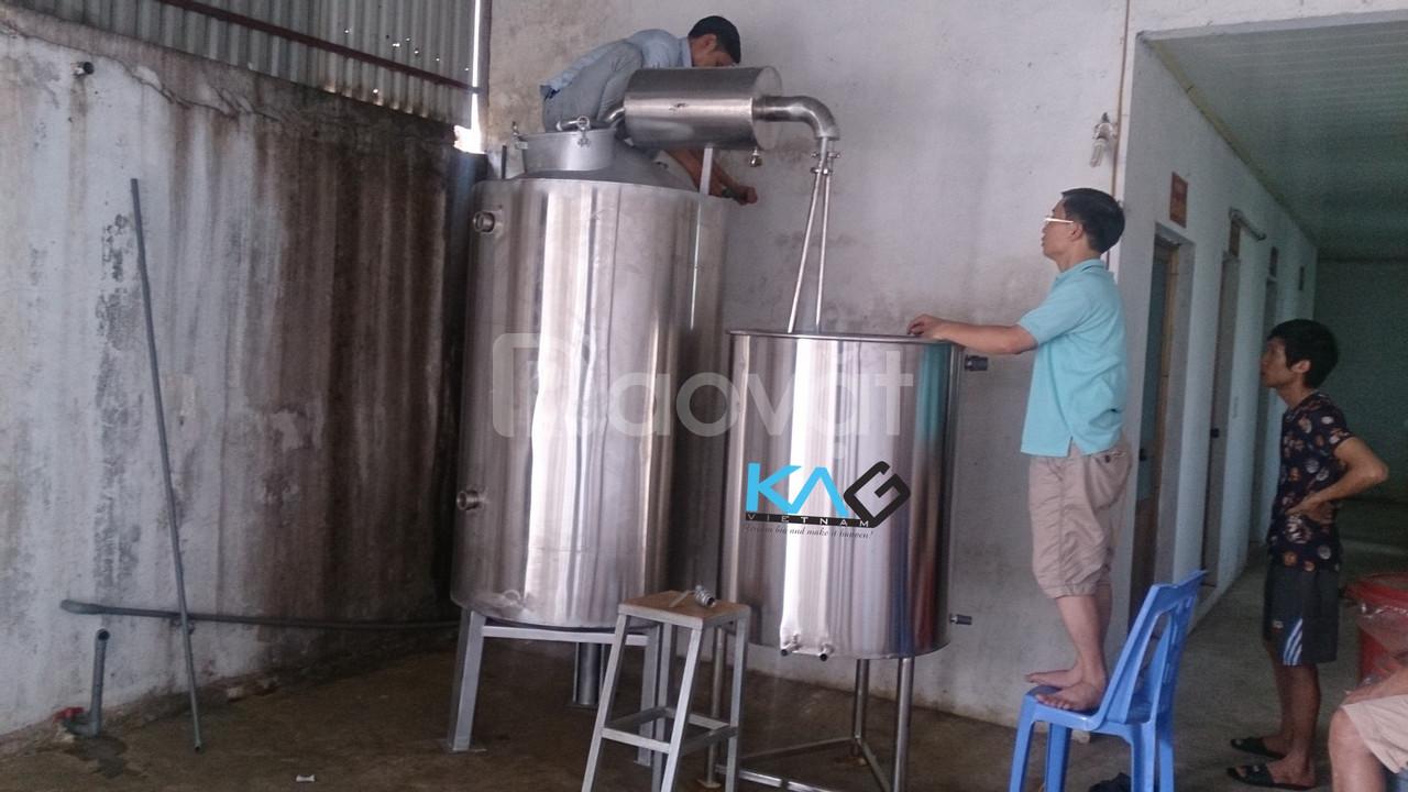 Thiết bị sản xuất rượu thủ công