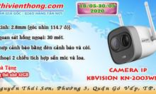 Gom hàng tháng 5 Camera IP KBVISION KN-2003WN.PIR