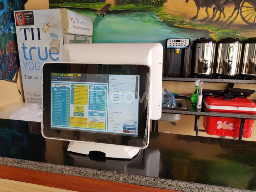 Chuyên máy tính tiền giá rẻ nhất cho trà chanh trà sữa Cần Thơ