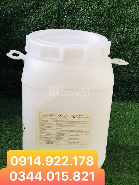 TCCA 90% diệt khuẩn, xử lý nước trong nuôi trồng thủy sản
