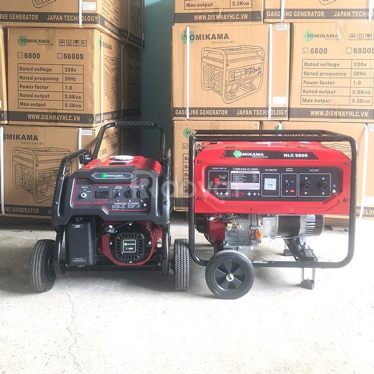Giới thiệu máy phát điện chạy xăng tốt thương hiệu Tomikama