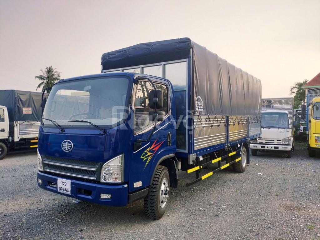 Xe tải Faw 7.3 tấn máy hyundai, xe tải Faw 7.3 tấn ga cơ thùng dài 6m2