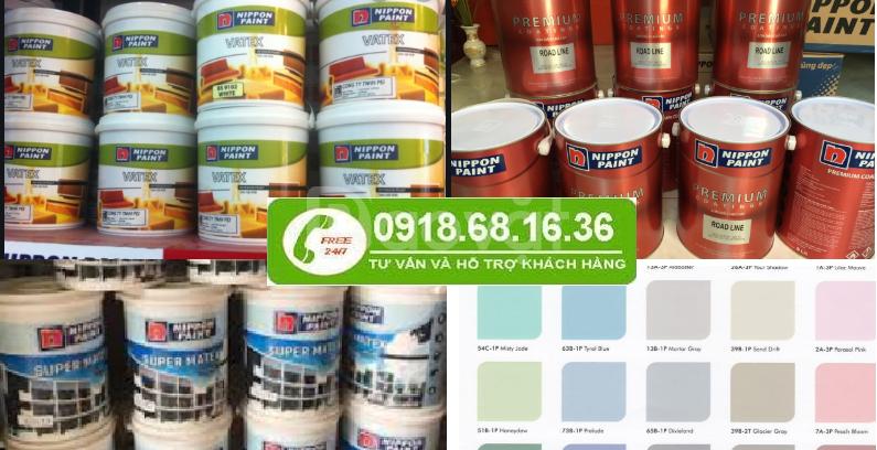 Cần mua sơn dầu nippon tại Bình Phước giá rẻ